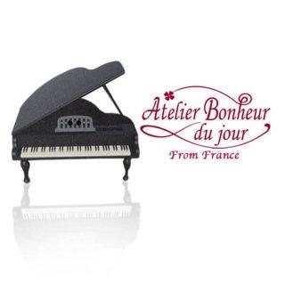 フランス輸入ボタン アトリエ・ボヌール・ドゥ・ジュール【グランドピアノ A 】