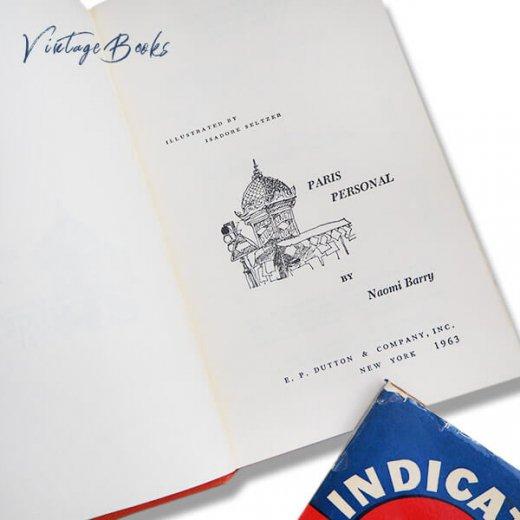 【2冊セット】フランス 1964年 パリガイドブック アメリカ1963年 パリ観光案内本 【画像6】