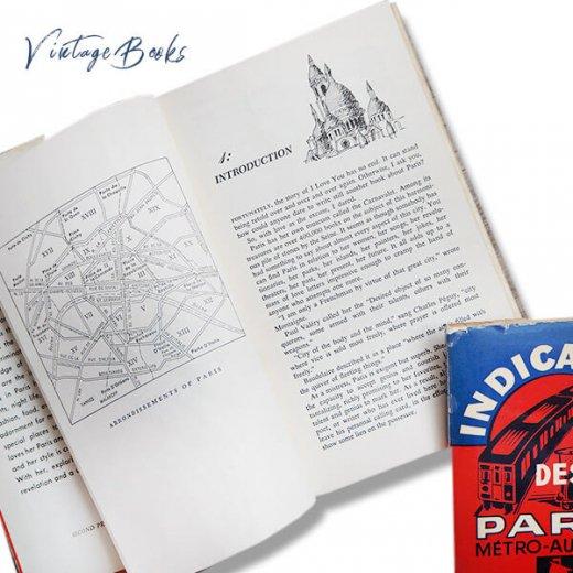 【2冊セット】フランス 1964年 パリガイドブック アメリカ1963年 パリ観光案内本 【画像7】