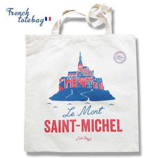 フランス製 トートバッグ TISSAGE DE L'OUEST【Le Mont-SAINT-MICHEL】