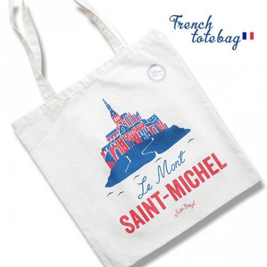 フランス製 トートバッグ TISSAGE DE L'OUEST【Le Mont-SAINT-MICHEL】【画像2】