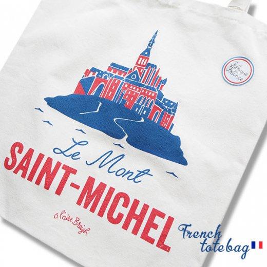 フランス製 トートバッグ TISSAGE DE L'OUEST【Le Mont-SAINT-MICHEL】【画像3】