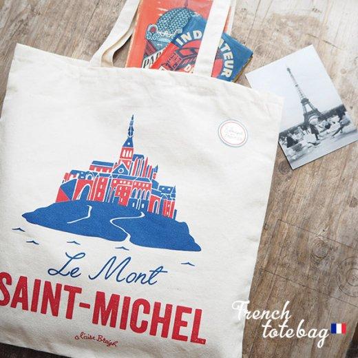 フランス製 トートバッグ TISSAGE DE L'OUEST【Le Mont-SAINT-MICHEL】【画像4】