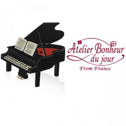 フランス輸入ボタン アトリエ・ボヌール・ドゥ・ジュール【グランドピアノ B】