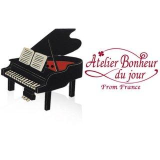 フランス輸入ボタン アトリエ・ボヌール・ドゥ・ジュール  フランス輸入ボタン アトリエ・ボヌール・ドゥ・ジュール【グランドピアノ B】