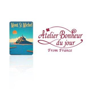 フランス輸入ボタン アトリエ・ボヌール・ドゥ・ジュール【モン・サン・ミッシェル】