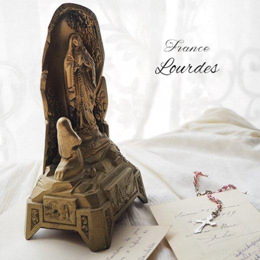 【送料無料】フランス ルルドの泉  アンティーク オルゴール【聖母マリア】【画像2】