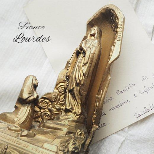 【送料無料】フランス ルルドの泉  アンティーク オルゴール【聖母マリア】【画像7】