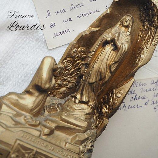 【送料無料】フランス ルルドの泉  アンティーク オルゴール【聖母マリア】【画像8】