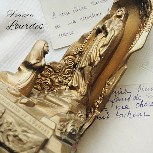 【送料無料】フランス ルルドの泉  アンティーク オルゴール【聖母マリア】【画像9】