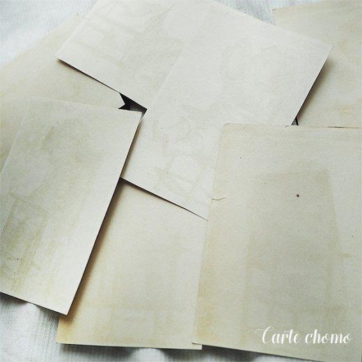フランス蚤の市より アンティーク クロモ カード 7枚セット【Chaise bebe】【画像7】