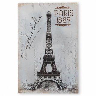 フランス エッフェル塔 モノクロ ポストカード PARIS 1889