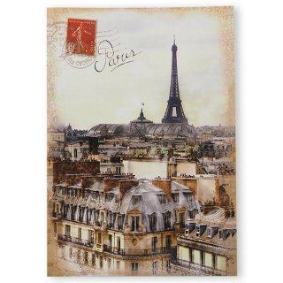 フランス エッフェル塔 セピア ポストカード Expositions universelles de Paris