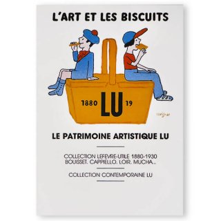 フランス LU サヴィニャック ポストカード (LU L'ART ET LES BISCUITS)