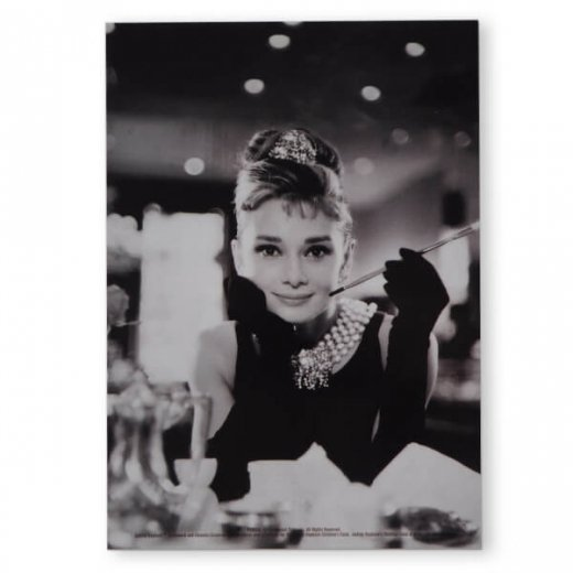 フレンチ ポストカード オードリー・ヘップバーン テファニーA (Audrey Hepburn)