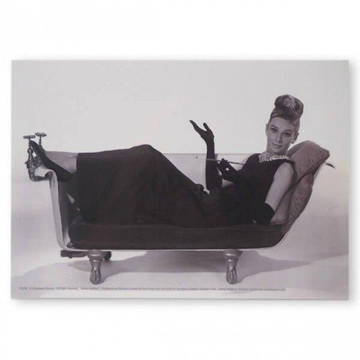 フレンチ ポストカード オードリー・ヘップバーン ティファニーB (Audrey Hepburn)