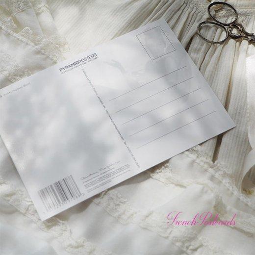 フレンチ ポストカード オードリー・ヘップバーン ティファニーB (Audrey Hepburn)【画像5】