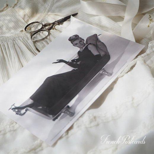 フレンチ ポストカード オードリー・ヘップバーン ティファニーB (Audrey Hepburn)【画像6】