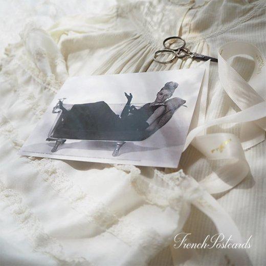 フレンチ ポストカード オードリー・ヘップバーン ティファニーB (Audrey Hepburn)【画像7】