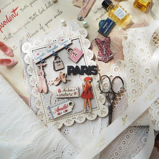 フランス輸入ボタン アトリエ・ボヌール・ドゥ・ジュール【私の裁縫箱】【画像7】
