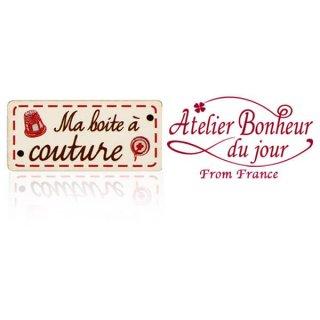 フランス輸入ボタン アトリエ・ボヌール・ドゥ・ジュール【私の裁縫箱】