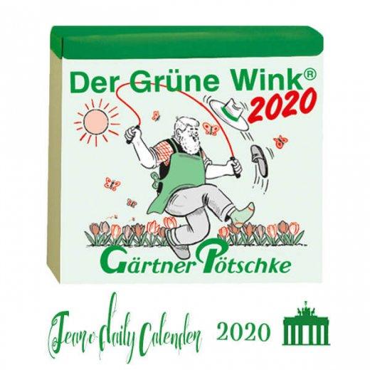 【予約商品】2020年 ドイツ RUNNEN (ブルネン)  ガーデニング 日めくりカレンダー(12月上旬発送分)