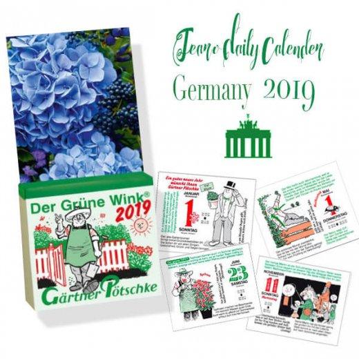 【予約商品】2020年 ドイツ RUNNEN (ブルネン)  ガーデニング 日めくりカレンダー(12月上旬発送分) 【画像2】