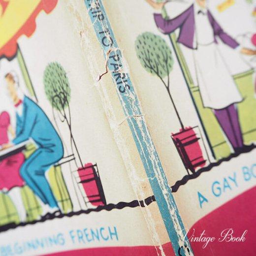 USA  1959年 フランス語→英語 フレーズ絵本 A trip to Paris (ヴィンテージ本)【画像7】