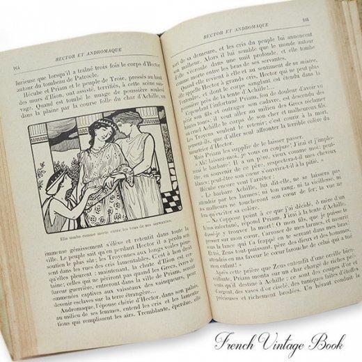 フランス蚤の市より 1918年発行 アンティーク本 ローズ (Les troisiemes lectures des petites filles)【画像4】