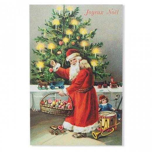 フランス クリスマス ポストカード (Decoration)