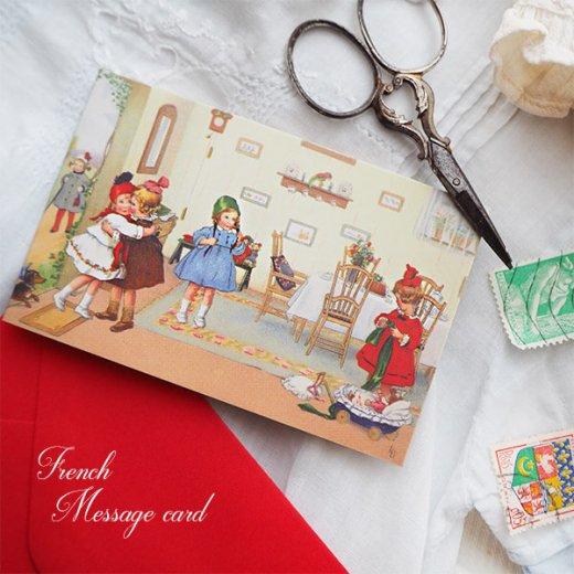 フランス ミニメッセージカード  封筒セット(Bienvenue)【画像3】