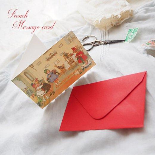 フランス ミニメッセージカード  封筒セット(Bienvenue)【画像4】