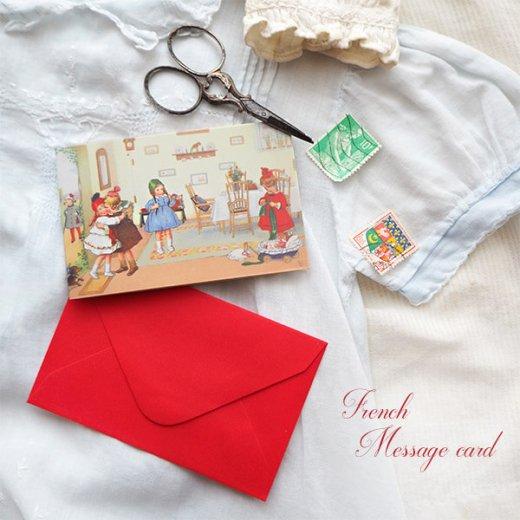 フランス ミニメッセージカード  封筒セット(Bienvenue)【画像5】