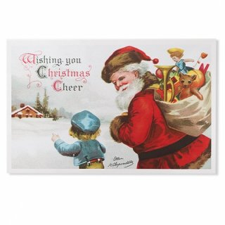 フランス クリスマス ポストカード (wishing you Christmas cheer)