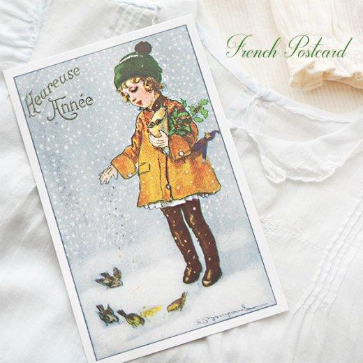 フランス クリスマス ポストカード (Heureuse annee)【画像5】