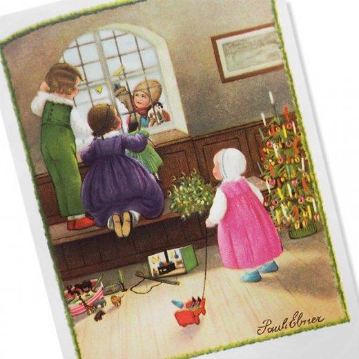 フランス クリスマス ポストカード (Bonne annee K)【画像2】