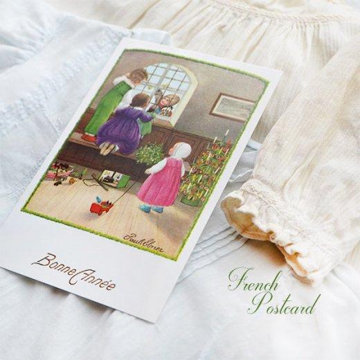 フランス クリスマス ポストカード (Bonne annee K)【画像3】