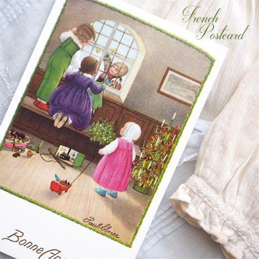 フランス クリスマス ポストカード (Bonne annee K)【画像4】