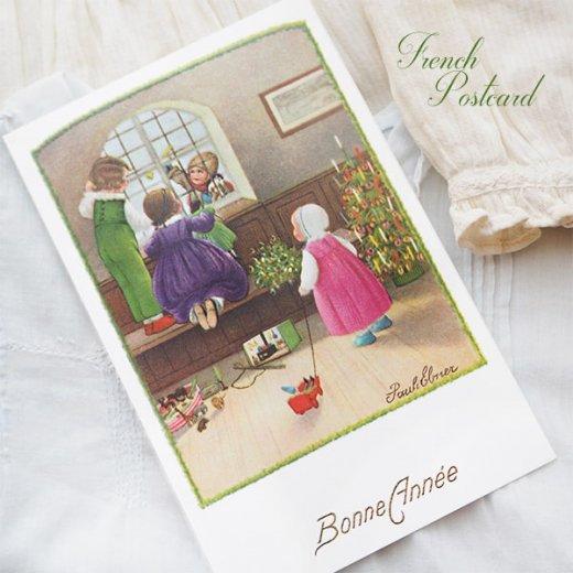 フランス クリスマス ポストカード (Bonne annee K)【画像5】