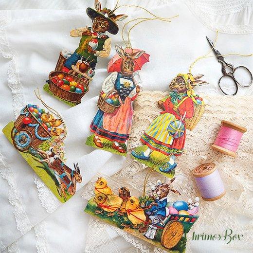ドイツ クロモス TIN缶 ギフトボックス 【イースター 復活祭 うさぎ 天使】【画像4】