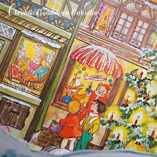 ドイツ クリスマス アドヴェントカレンダー【L】<クリスマスの門を開けて>【画像2】