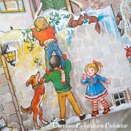 ドイツ クリスマス アドヴェントカレンダー【L】<クリスマスの門を開けて>【画像4】