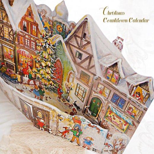 ドイツ クリスマス アドヴェントカレンダー【L】<クリスマスの門を開けて>【画像5】