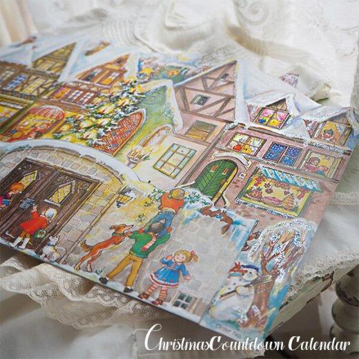 ドイツ クリスマス アドヴェントカレンダー【L】<クリスマスの門を開けて>【画像6】