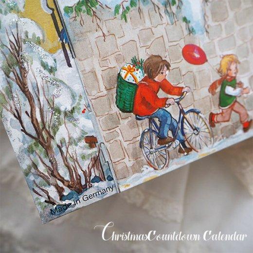 ドイツ クリスマス アドヴェントカレンダー【L】<クリスマスの門を開けて>【画像7】