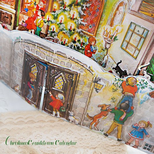 ドイツ クリスマス アドヴェントカレンダー【L】<クリスマスの門を開けて>【画像8】