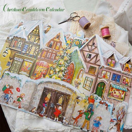ドイツ クリスマス アドヴェントカレンダー【L】<クリスマスの門を開けて>【画像9】