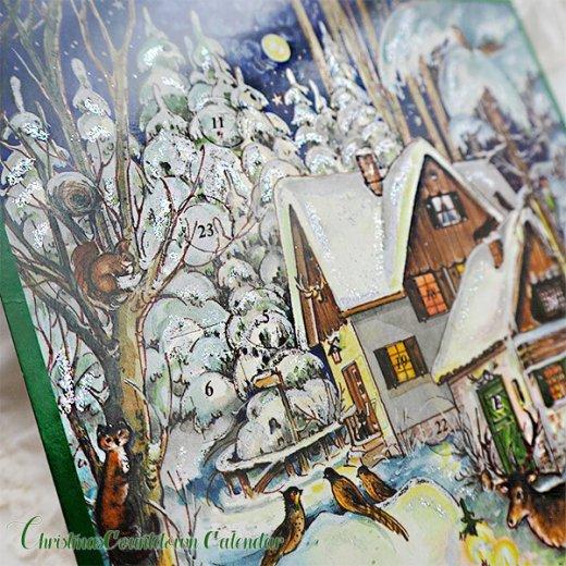 ドイツ クリスマス アドベントカレンダー【M】<森の小さなクリスマス>【画像2】