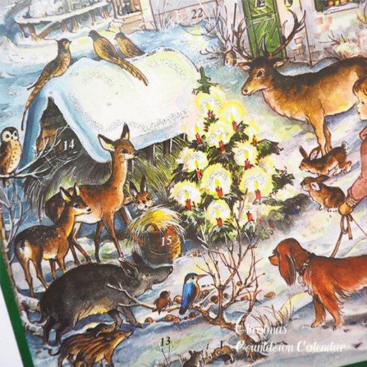 ドイツ クリスマス アドベントカレンダー【M】<森の小さなクリスマス>【画像3】