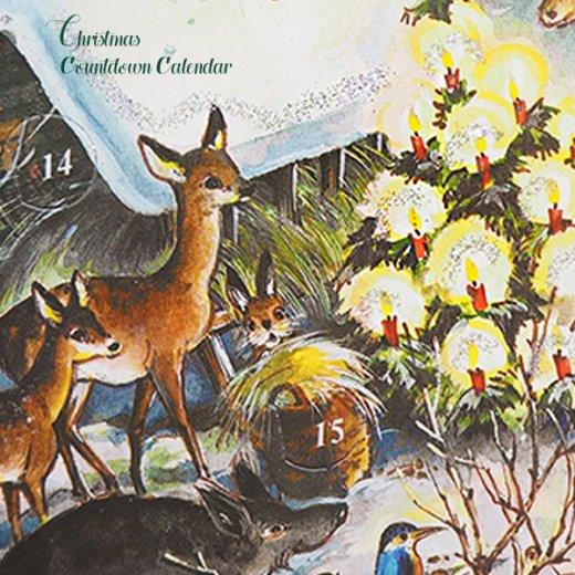 ドイツ クリスマス アドベントカレンダー【M】<森の小さなクリスマス>【画像4】